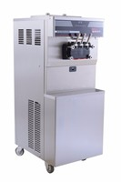 factory directly supplying hollow tube pop corn puffed ice cream machine with 304 stainless steel