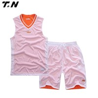 Wholesale sublimated reversible basketball jerseys for women