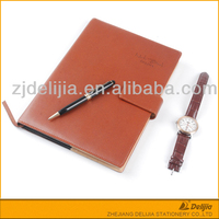 Customized Design Embossed Decorative Business Notebook