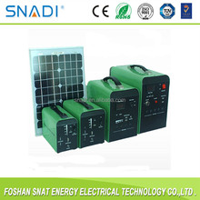 10W/20W/30W/50W100W off grid portable solar power system for small homes