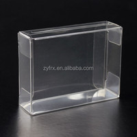 Clear Plastic Box Protectors for NES SNES N64 Games manufacturer