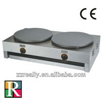 factory directly supply double gas crepe maker industrial gas crepe maker