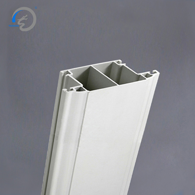 plastic window edge trim pvc exterior door China led glass profile