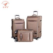 Wholesale customized Design italian 3pcs cabin luggage travel set brand