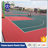 Competitive Price basketball court pp colorful vinyl flooring