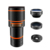 2018 Detachable 4 in 1 wide angle fisheye macro 15x telephoto mobile phone camera lens for iphone