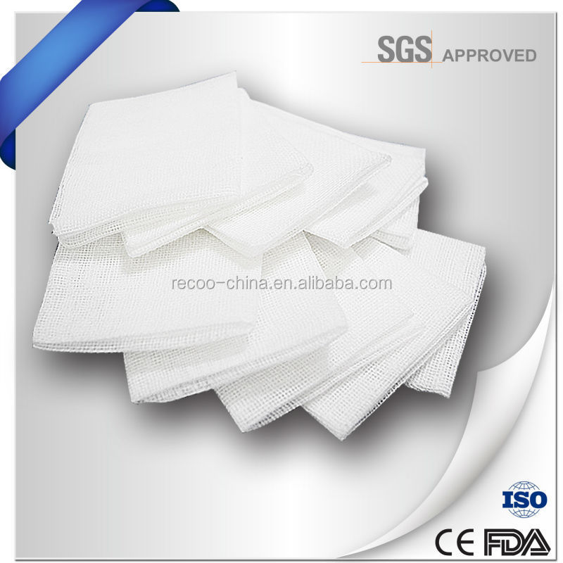 High quality gauze swabs sterile pack