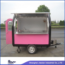 FV-30NEW stainless steel glass food ste mobile food processor stainless steelfast food trailer