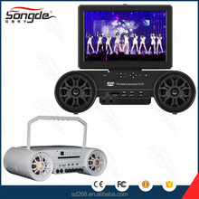 NEW Portable Karaoke DVD Player with bluetooth microphone karaoke
