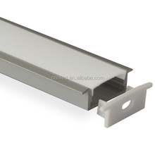 Recessed aluminum Channel Lighting Fixture Accessories For LED