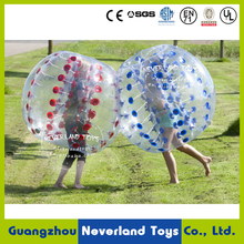 1.8M Funny Games NEVERLAND TOYS Inflatable Bubble Ball Inflatable Bumper Ball Inflatable Bubble Soccer Best Quality Hot Sale