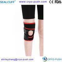 Volleyball use neoprene and spandex knee support