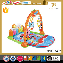 High quality baby toys 2017 soft musical baby play mat