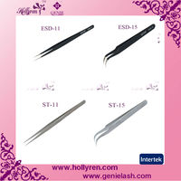 The most pupular tools for eyelash extension----fashion tweezers