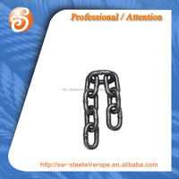 Welded G43 Iron Link Chain Or Anchor Chain STEEL CHAIN G80 G70