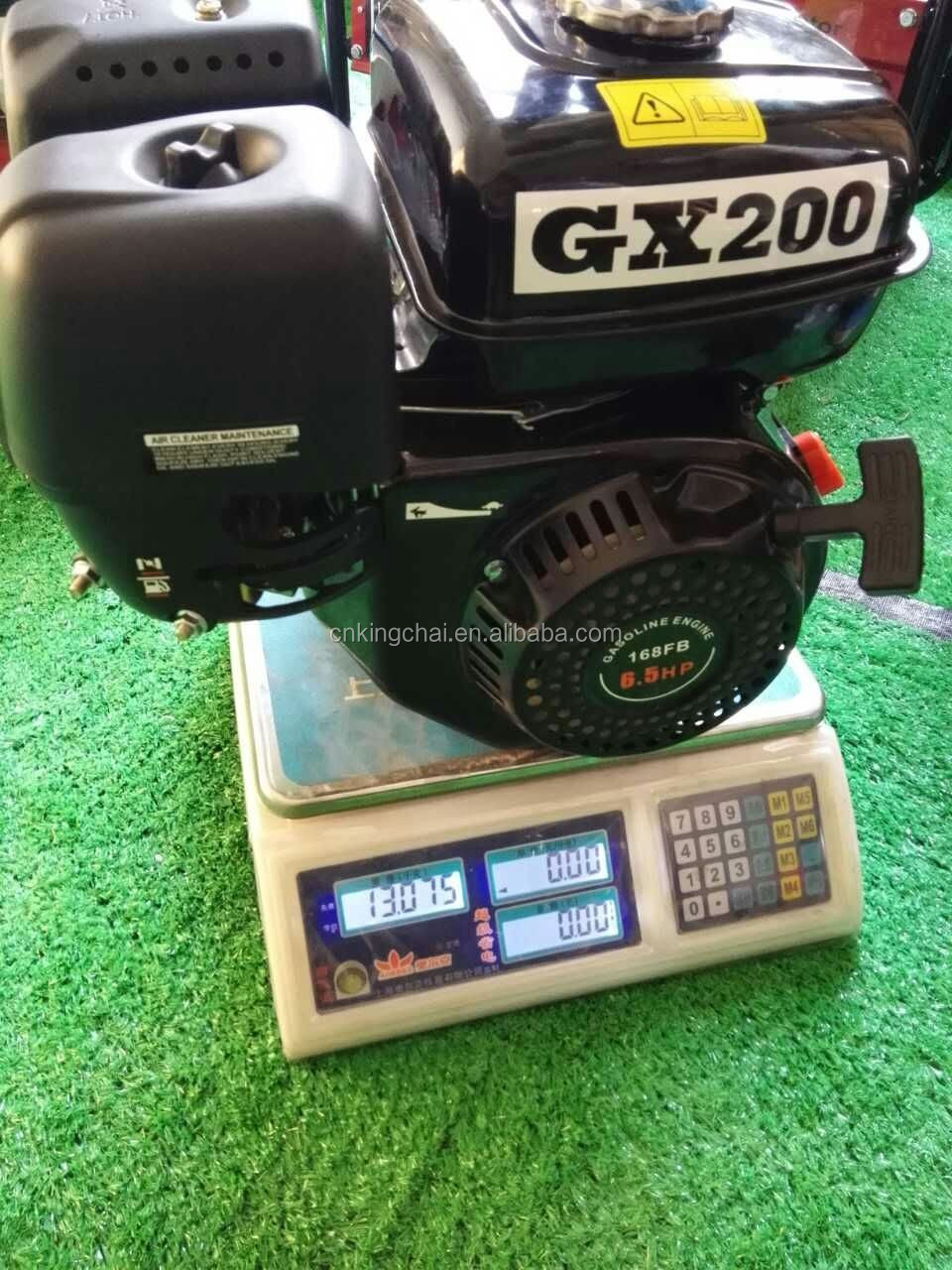 KINGCHAI JD design Gasoline Engine cheap price for sale! GX200 GX160 famous Pakistan market