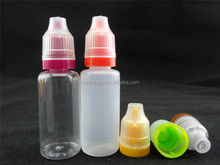 10ml/15ml/20ml/25ml/30 PET dropper plastic bottle,colorful childproof cap 10ml plastic dropper bottles wholesale,empty bottle