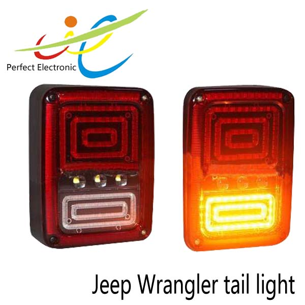 J-eep Wrangler AUTO PARTS 12v LED rear signal light offroad tail light