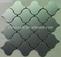 Lantern shape metal kitchen self adhesive wall tiles