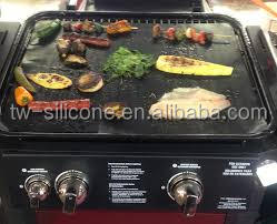 Fashion outdoor food grade silicone electric barbecue grill with lava rock