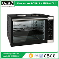 High Quality 70L Home Appliance Electric Oven With Hot Plate