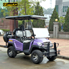 EXCAR 4 Seat chinese golf carts mini club car electric golf cart battery golf buggy car