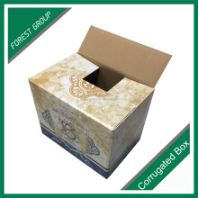 Logistics transportation corrugated paper shipping wine box packaging