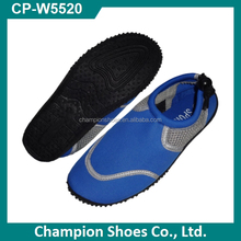 2016 custom design beach aqua shoes water shoes surfing shoes