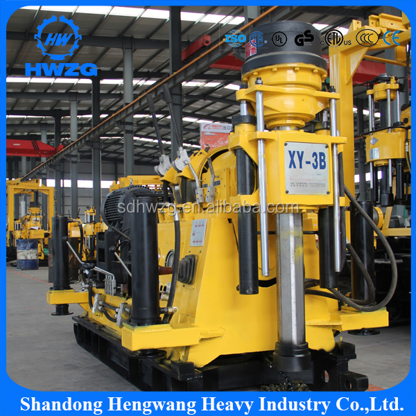 cheap 300m crawler portable hydraulic portable trailer mounted water well drilling rigs for sale