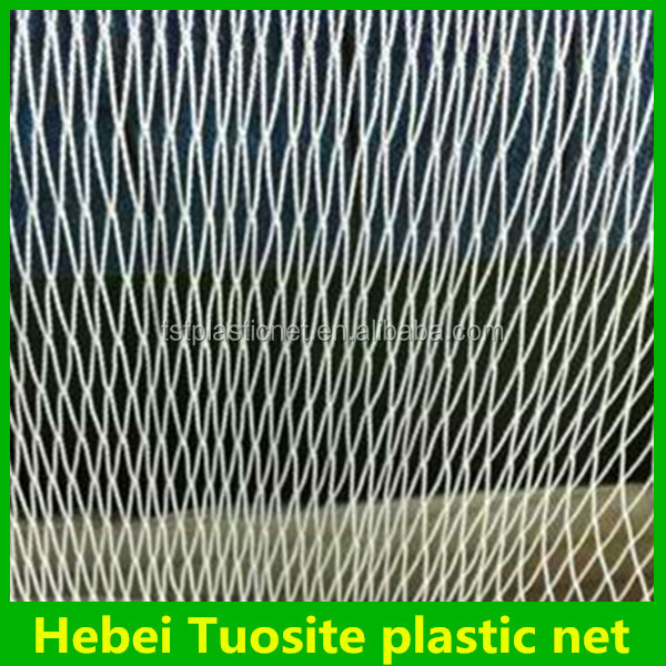 high quality pe knotless fish net