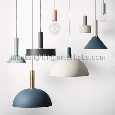Vintage Industrial hanging E27 pendant lamp Modern LED Aluminum pendant light
