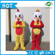 CE/ASTM/AZO pokemon mascot costume, new year fat animal mascot costume rooster!! Year of the rooster adults mascot