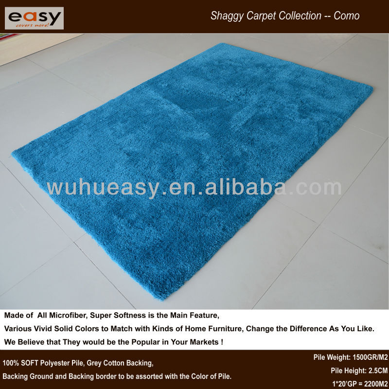 Turquoise shaggy maquina para lavar alfombras