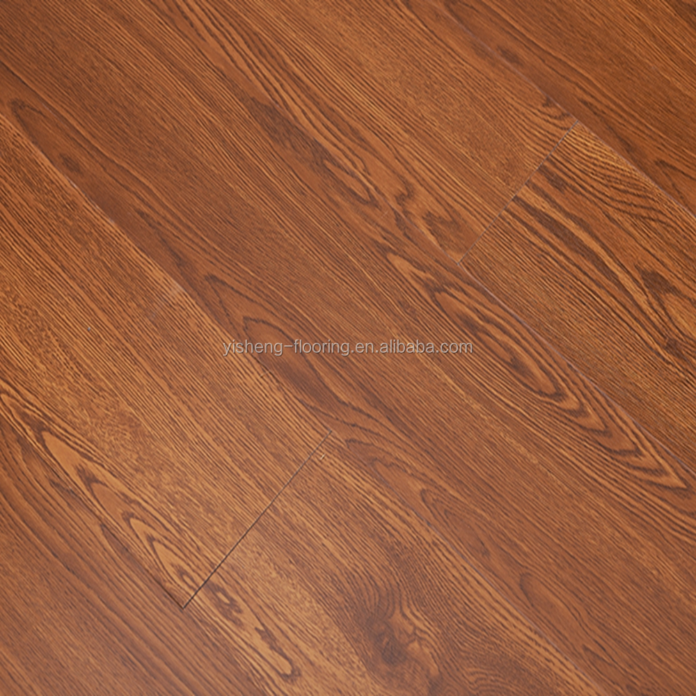 Wood Pattern Loose Lay Textured Vinyl Plank Flooring