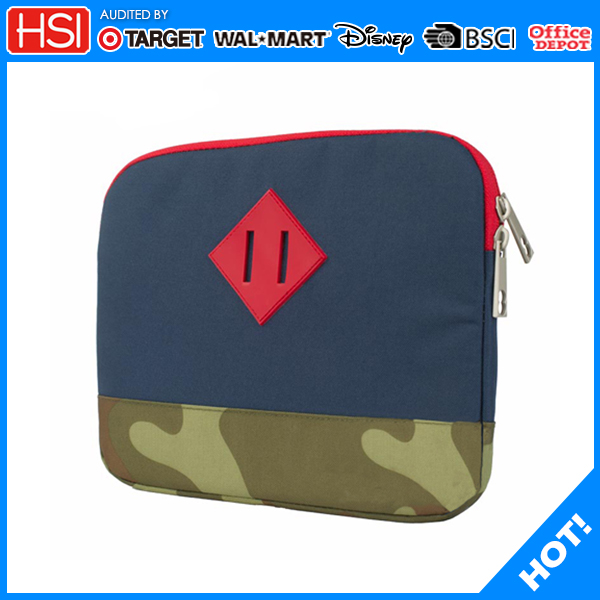 13 inch polyester assorted color lightweight laptop sleeve bag