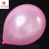 10 inch 2.2g pink pearl light wedding room party supplies romantic balloon