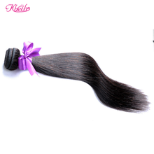 Kbeth Hair Factory Products Tangle Free Natural Color Virgin Remy Silky Straight Peruvian Hair Weave