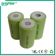 high temperature nimh rechargeable battery size d 1.2v 8000mah for oem