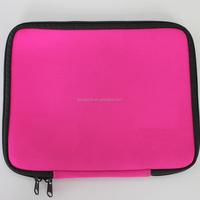 Pouch bag for ipad / custom printed neoprene laptop sleeve
