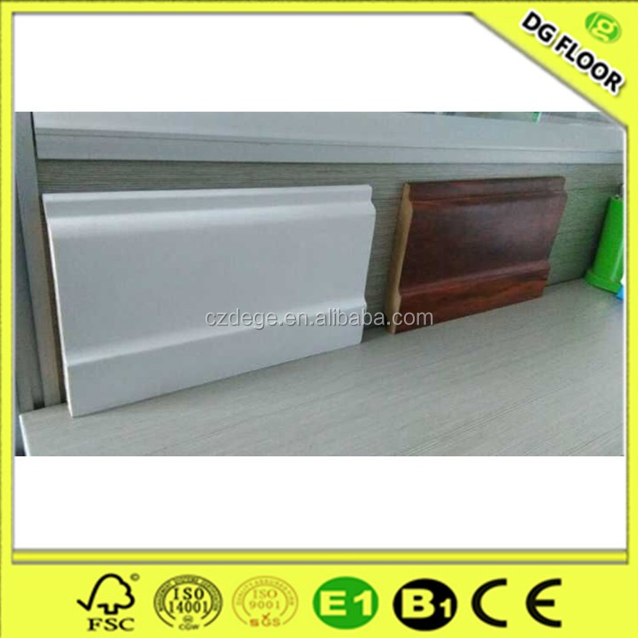 Flooring Accessories Wood MDF Skirting Board Cover
