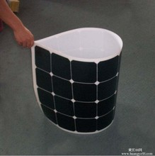 New Material ETFE Laminated 110W American Sunpower Cell price high voltage solar panels