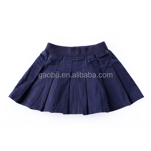 Newest style custom design young girls wear mini skirt