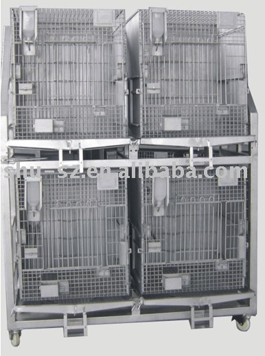 stainless steel monkey cage(four groups)