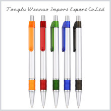 Factory price promotional fashionable colorful imprinted promotional plastic ball pen