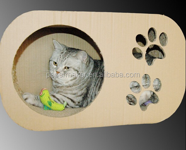 Pet Cages,Carriers&Houses Type Cats Application corrugated cat scratcher