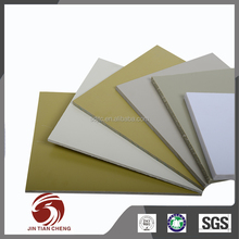 Standardized size rigid board rubber white pvc forex sheet