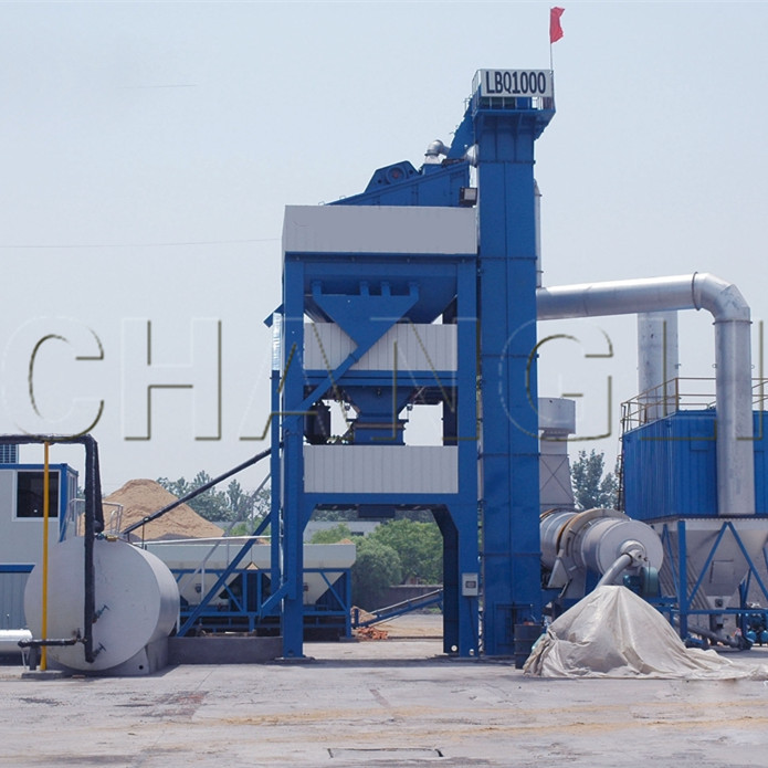2016 hot sale YLB80 mobile asphalt batch mixing plants with CE&ISO