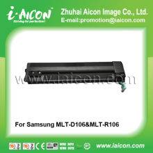 Black laser jet toner cartridge for Samsung MLT-D106 MLT-R106