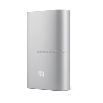100% original mi power bank 10000mAh mi 10000 external battery pack portable charger mobile powerbank