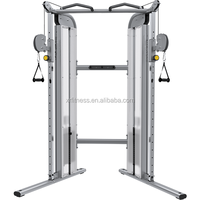 Dual Adjustable Pulley/Functional Trainer/gym equipment names